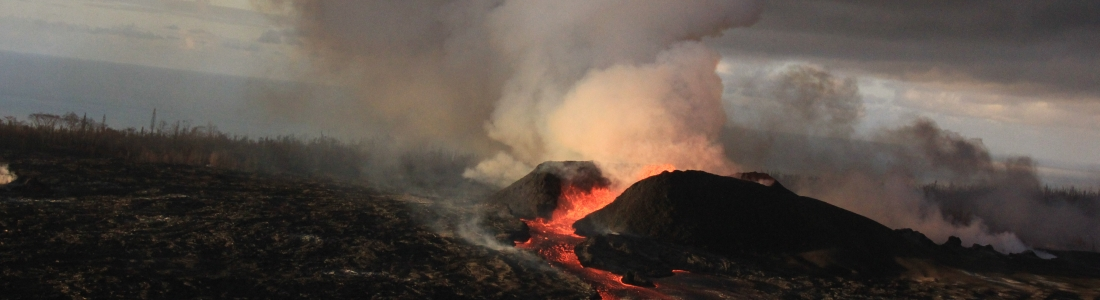 01 Juillet 2018. FR . Hawai : Kilauea , Kamchatka : Ebeko ,  Guatemala : Fuego , Alaska : Cleveland .