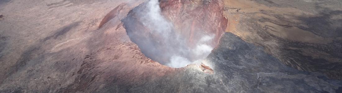 19 Juillet 2018. FR. Colombie : Nevado Del Ruiz , Hawai : Kilauea , Philippines : Kanlaon , Indonésie : Anak Krakatau .