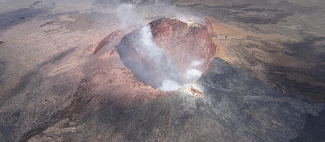 July 19 , 2018. EN.  Colombia : Nevado Del Ruiz , Hawai : Kilauea , Philippines : Kanlaon , Indonesia : Anak Krakatau .