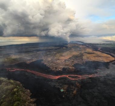 July 22 , 2018.  EN .  Chile : Villarica , Hawai : Kilauea , Ecuador / Galapagos : Sierra Negra , Indonésia : Dukono .