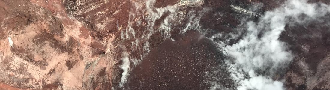 June 20, 2019. EN. Hawaii : Kilauea , Indonesia : Anak Krakatau , Colombia : Chiles / Cerro Negro , New Zealand : Whakaari / White Island , Chile : Nevados of Chillan .