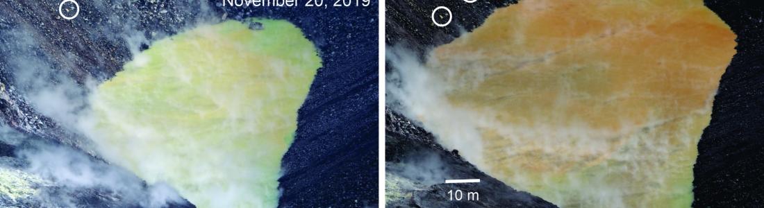 March 06 , 2020. EN . Hawaii : Kilauea , Iceland : Reykjanes , Kamchatka : Klyuchevskoy , France : Mayotte , Indonesia : Kerinci .