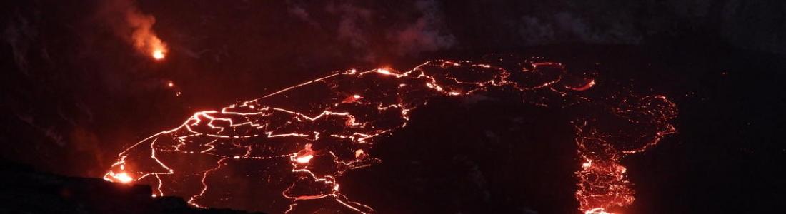 January 12, 2021. EN . Hawaii : Kilauea , Martinique : Montagne Pelée , Peru : Sabancaya , Costa Rica : Poas , Indonesia : Dukono .