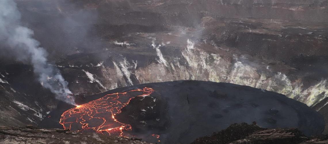 February 12, 2021. EN. Indonesia : Sinabung , Hawaii : Kilauea , Kamchatka : Klyuchevskoy , Japan : Sakurajima , Chile : Nevados of Chillan .