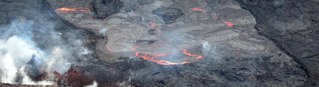 09 Mai 2021. FR. La Réunion : Piton de la Fournaise , Hawaii : Kilauea , Indonésie : Semeru , Chili : Nevados de Chillan .