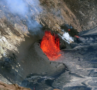 October 02 , 2021. EN. Spain / La Palma : Cumbre Vieja , Hawaii : Kilauea , Indonesia : Merapi , Italy : Vulcano , Indonesia : Ili Lewotolok .