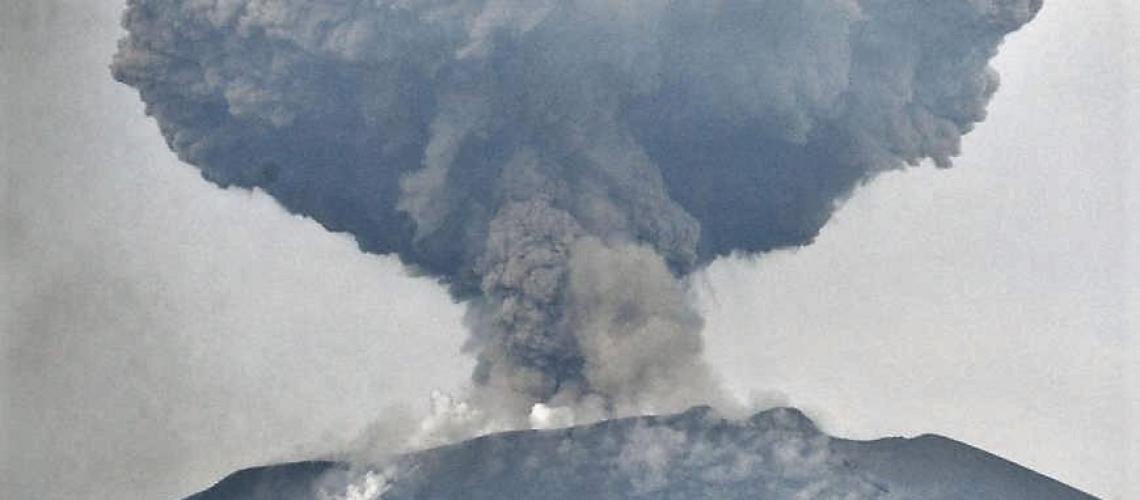 14 Mars 2018. FR. Shinmoedake , Cerro Machin , Mayon , Ibu , Villarica.