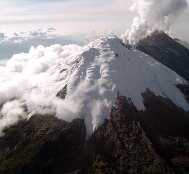 October 12 , 2016. EN. Turrialba , Nevado Del Huilà , Sheveluch , California Volcanoes .