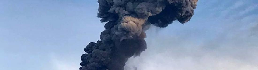 June 11 , 2017. EN .  Bogoslof , Reventador , Popocatepetl , Fuego .