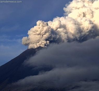 October 06 , 2017. EN. Nevados de Chillan , Popocatepetl , Shinmoedake , Ambae .