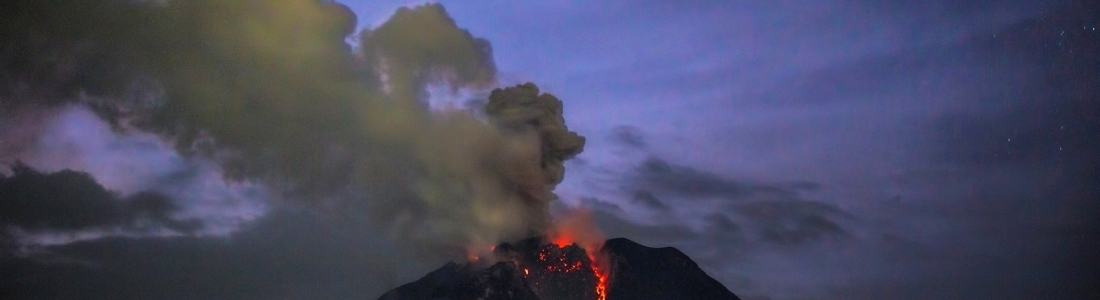 02/05/2017. FR. Sinabung , Poas , Turrialba , Mauna Loa , Yellowstone .