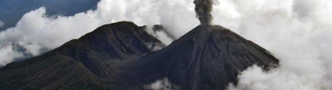 September 07, 2020. EN. Indonesia : Raung , Ecuador : Reventador , Guatemala : Santiaguito , United States : Cascade Range Volcanoes , Mexico : Popocatepetl .