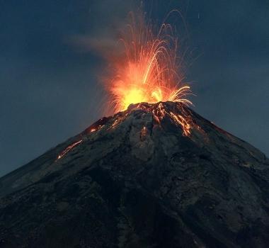 October 22 , 2017. EN. Tinakula , Agung , Fuego , Turrialba , Poas , Rincon de la Vieja , Dukono .