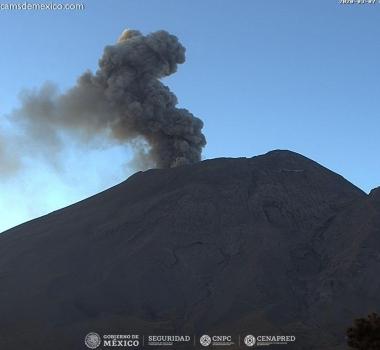 March 08 , 2020. EN . Chile : Nevados de Chillan , Indonesia : Merapi , Mexico : Popocatepetl , Costa Rica : Turrialba / Poas / Rincon de la Vieja .