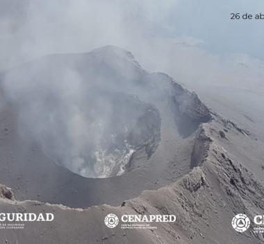 April 28 , 2019 . EN . Kamchatka : Sheveluch , Montserrat : Soufriere Hills , Mexico : Popocatepetl , Indonesia : Merapi .