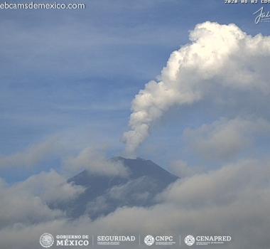 August 04 , 2020. EN . Peru : Sabancaya , Peru : Ubinas , Indonesia : Dukono , Italy : Campi Flegrei , Mexico : Popocatepetl .
