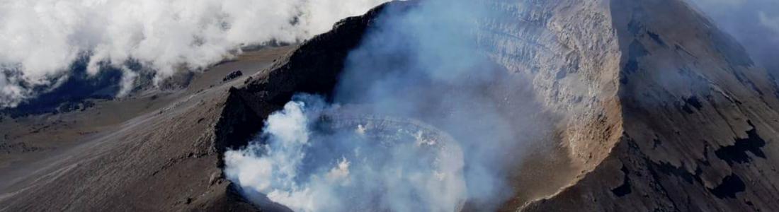 November 06 , 2019. EN . Chile : Nevados of Chillan , Mexico : Popocatepetl , Kamchatka : Sheveluch , Guatemala : Fuego .