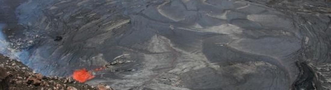 30/04/2015. Kilauea , Piton de la Fournaise , Ruapehu , Dempo .