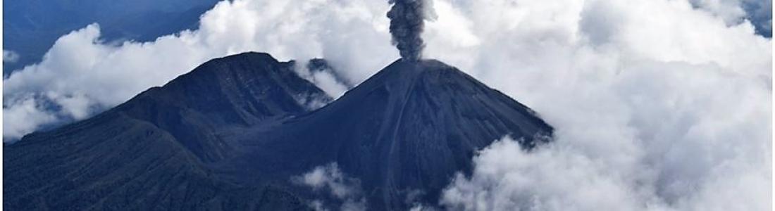24 Septembre 2018. FR . La Réunion : Piton de la Fournaise , Chili : Villarica , Equateur : Reventador , Indonésie : Anak Krakatau .