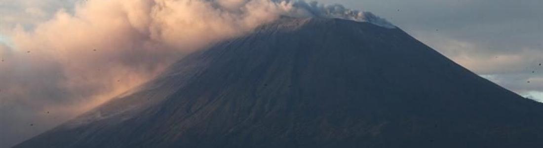 January 07 , 2019.  EN.  El Salvador : San Miguel ( Chaparrastique ) , Indonesia : Karangetang , Philippines : Kanlaon , Mexico : Popocatepetl .