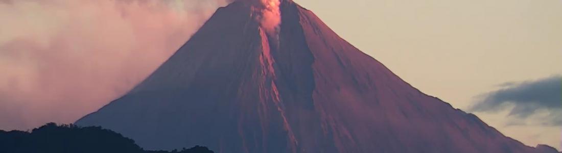 13 Juin 2020. FR. Equateur : Sangay , Indonésie : Merapi , Hawaii : Mauna Loa , Guatemala : Pacaya .