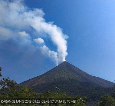 September 27, 2019. EN. Hawaii : Mauna Loa , Italy : Stromboli , Alaska : Shishaldin , Indonesia : Karangetang , Italy / Sicily : Etna .
