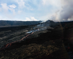 October 19 , 2018.  EN.  La Réunion : Piton de la Fournaise , Colombia : Nevado del Ruiz , Chile : Puyehue – Cordon Caulle , Costa Rica : Turrialba .