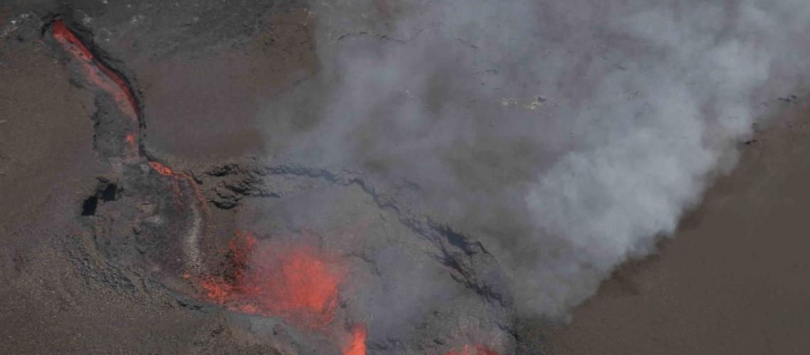 23 Septembre 2018. FR. Colombie : Nevado del Ruiz , Hawai : Kilauea , La Réunion : Piton de la Fournaise , Alaska : Semisopochnoi , Kamchatka : Ebeko .