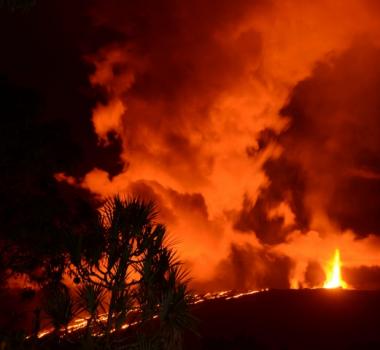 March 11, 2019. FR . La Reunion : Piton de la Fournaise , Indonesia : Kerinci , Kamchatka : Sheveluch , Guatemala : Fuego , Mexico : Popocatepetl .