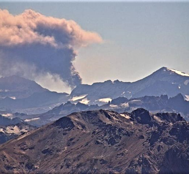 April 21, 2019 . EN . Chile : Planchon Peteroa , Kamchatka : Sheveluch , Guatemala : Fuego , Indonesia : Agung .