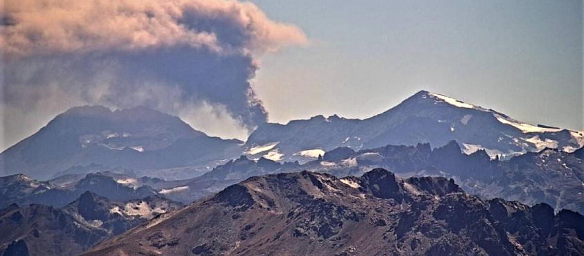 April 21, 2019 . EN . Chile : Planchon Peteroa , Kamchatka : Sheveluch , Guatemala : Fuego , Indonesia : Agung .