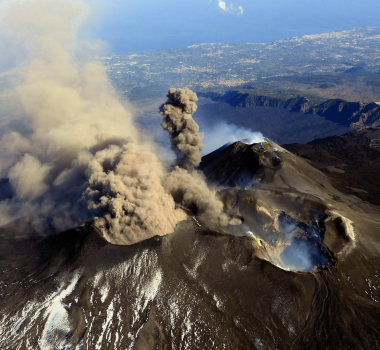 October 07 , 2019. EN. Italy / Sicily : Etna , Chile : Nevados de Chillan , Ecuador : Reventador , Philippines : Taal , Indonesia : Kerinci .