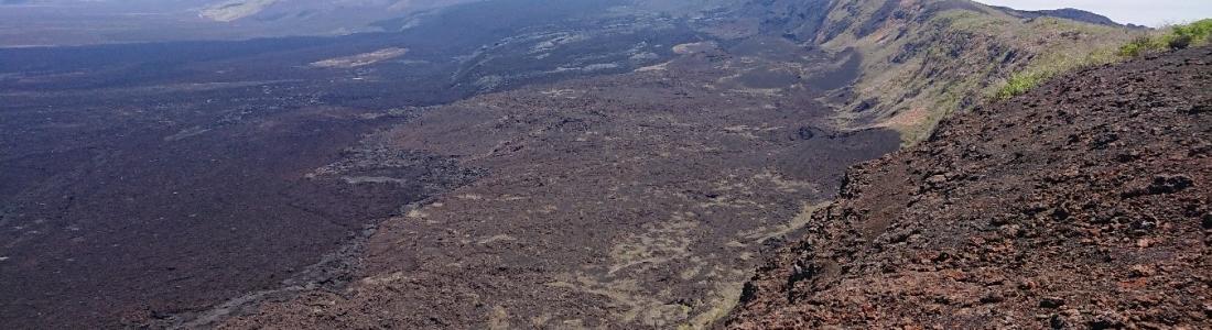 October 12 , 2018. EN.  La Réunion : Piton de la Fournaise , Colombia : Nevado del Ruiz , Papua New Guinea : Manam , Ecuador / Galapagos : Sierra Negra .
