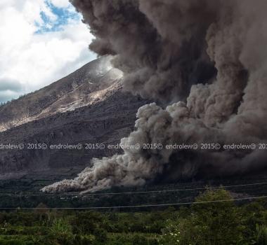 16/06/2015. Sinabung, Asama, Bulusan .