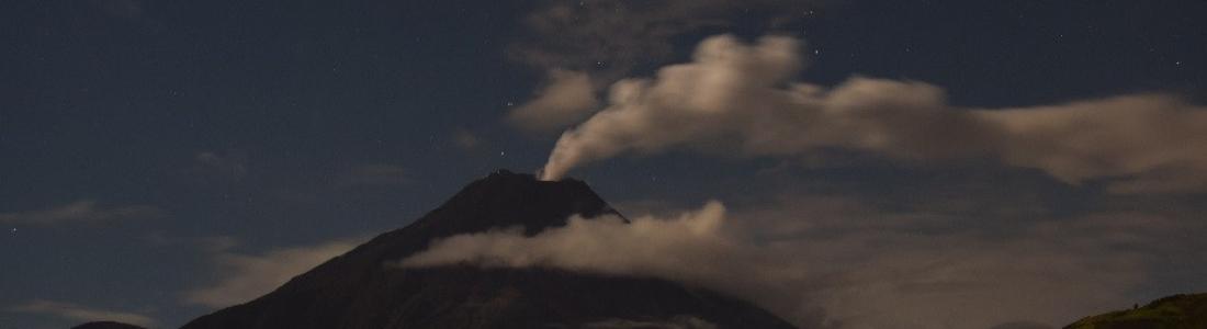 01/12/2015. FR. Tungurahua ,  Zao  , Karymsky.