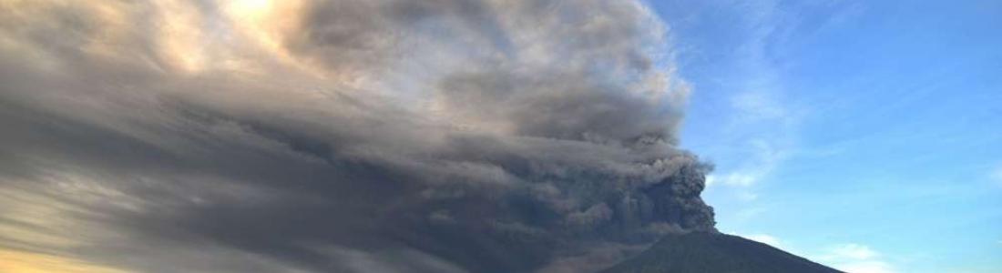 30 Novembre 2017. FR . Agung , Nevado del Ruiz , Ruapehu , Turrialba , Poas.