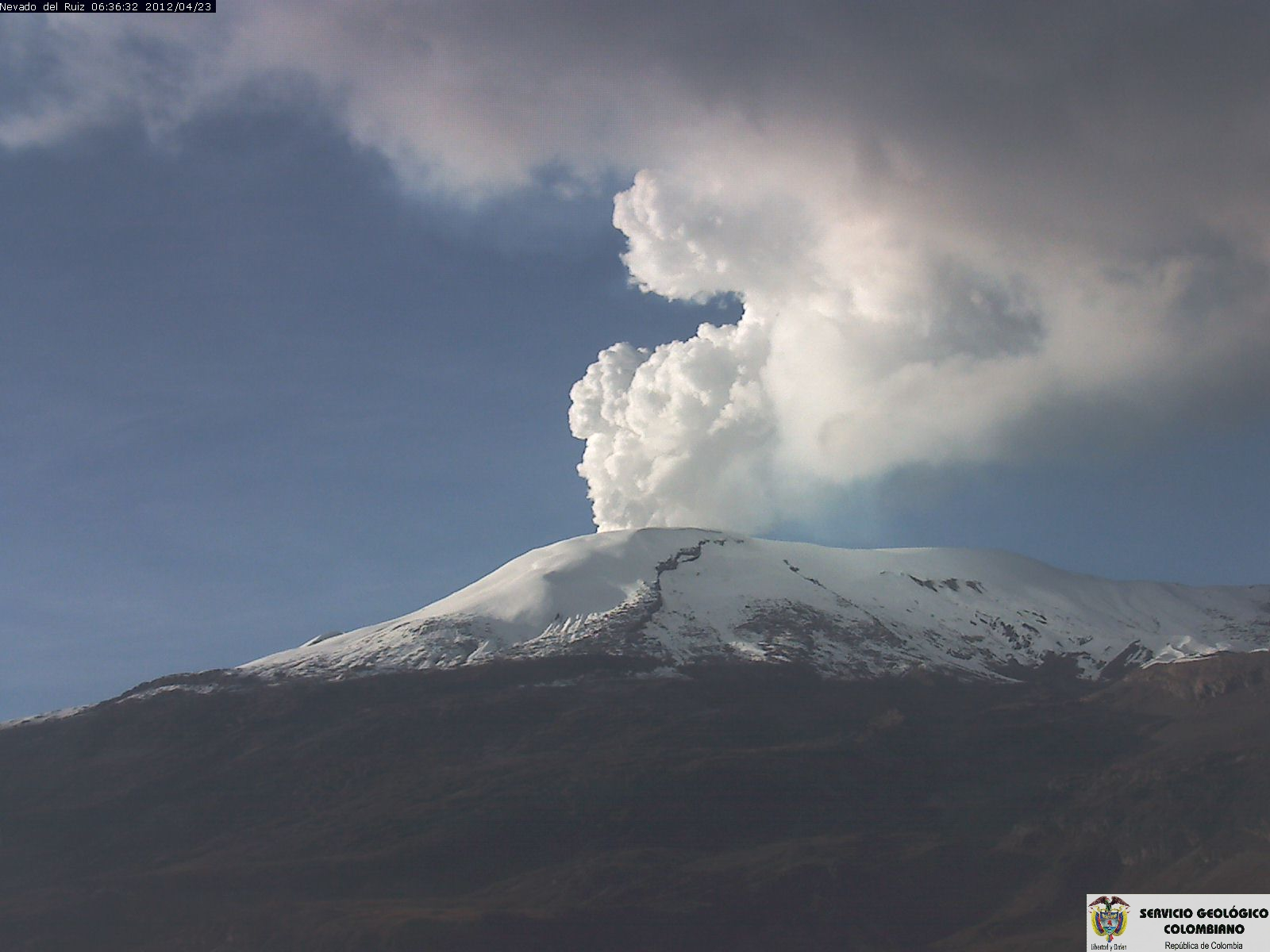 July 05, 2015. English . Nevado Del Ruiz, Raung, Bulusan.