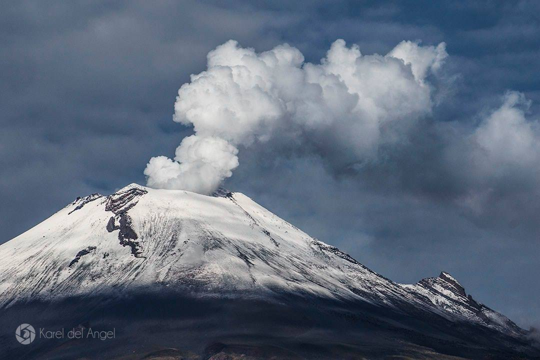 July  06, 2015. English. Batu-Tara, Popocatepetl, Sinabung .