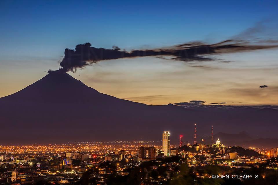 August 24, 2015. English . Popocatepetl, Copahue, Pacaya .