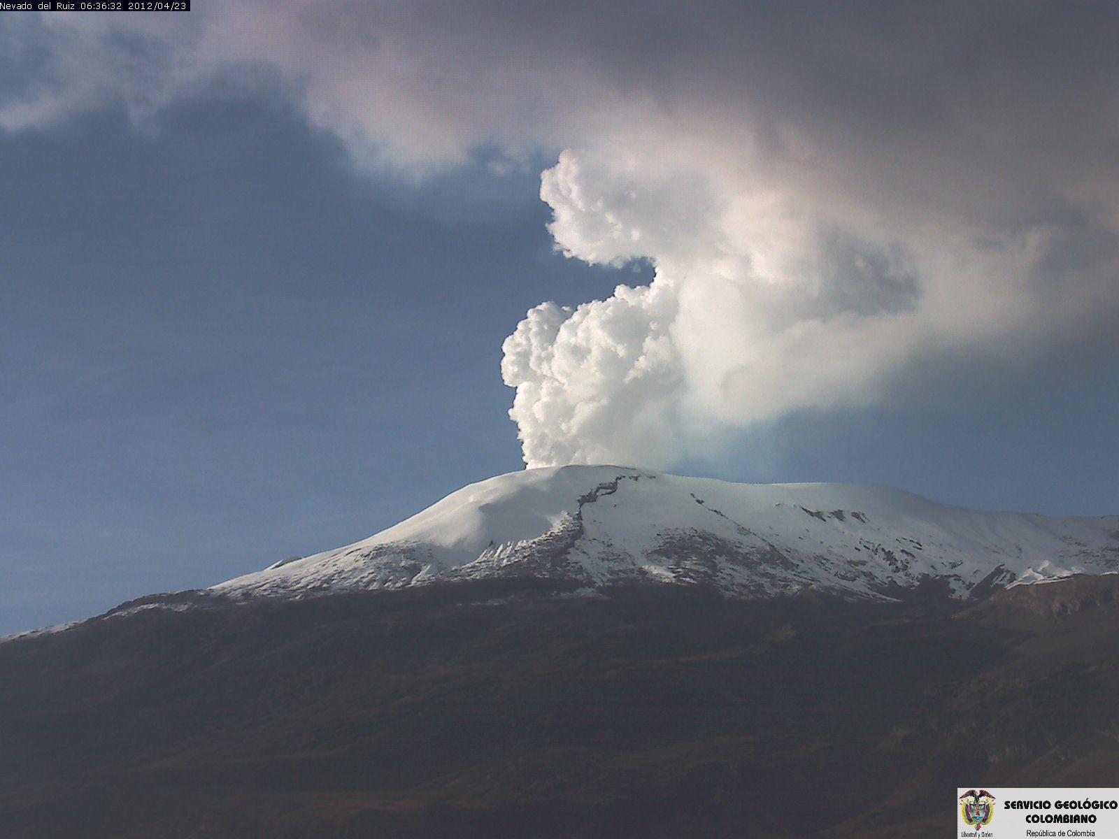 December 26, 2015. EN.  Momotombo , Nevado Del Ruiz, Lokon-Empung .