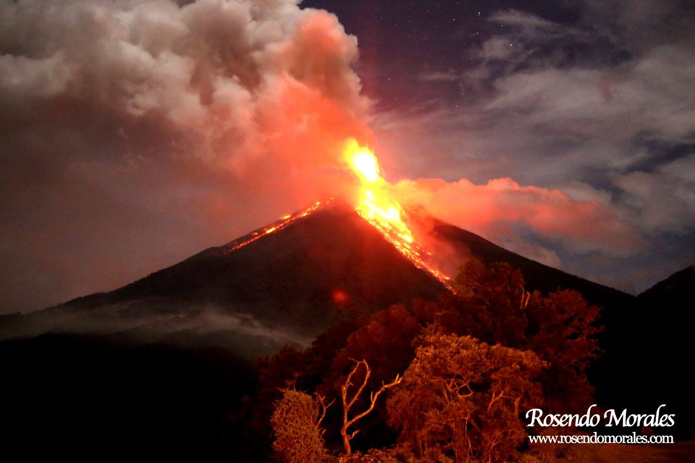 June 10 , 2016. EN.  Popocatepetl , Fuego , Arenal , Aira ( Sakurajima) , Kilauea.