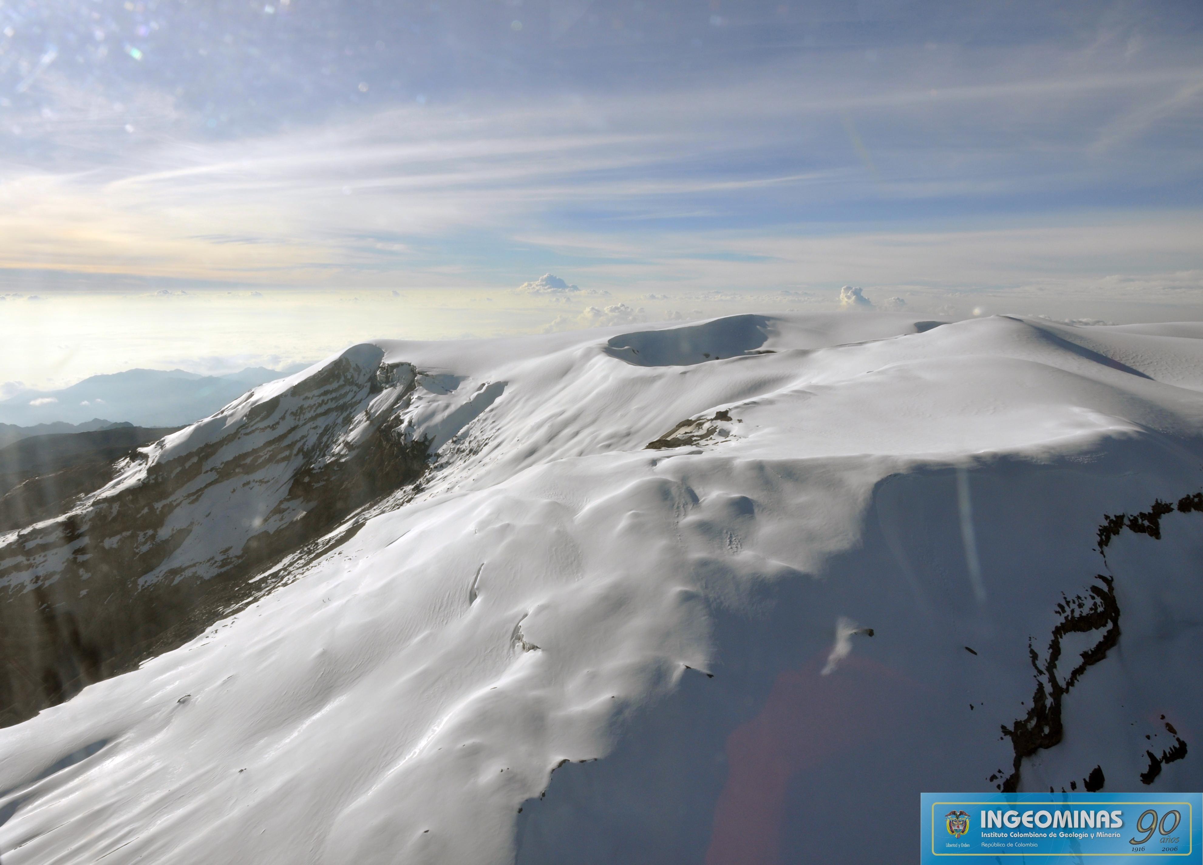 October 08, 2015. English . Copahue,  Grimsvötn , Nevado Del Ruiz .