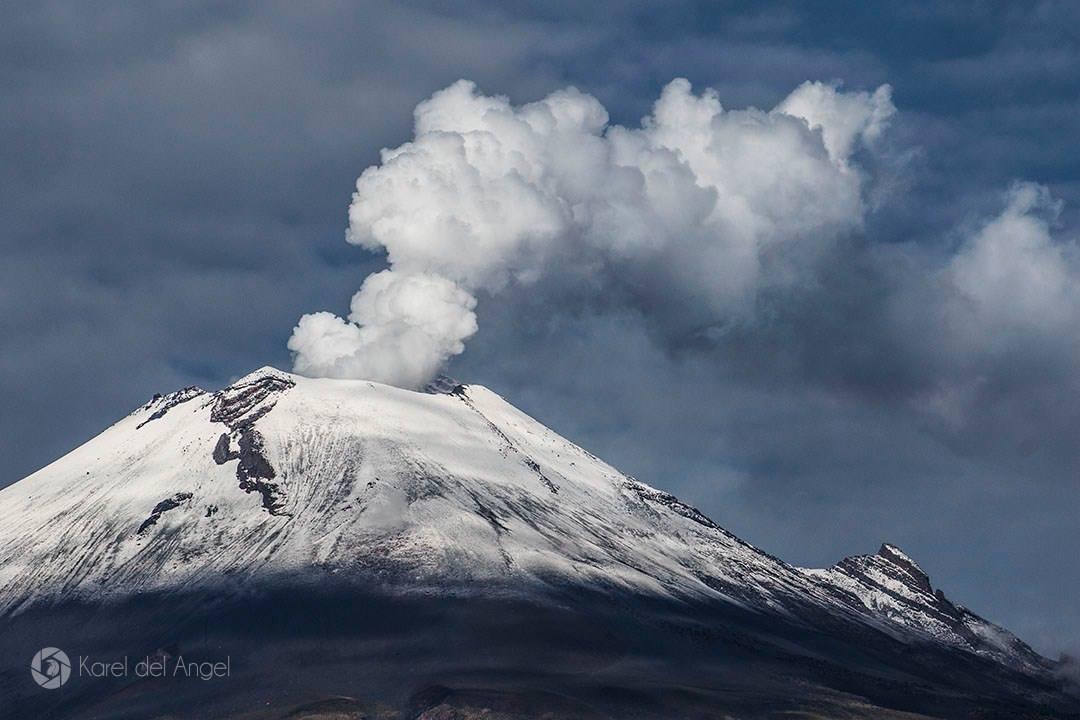 15/12/2015. FR. Tungurahua , Reventador ,  Popocatepetl.
