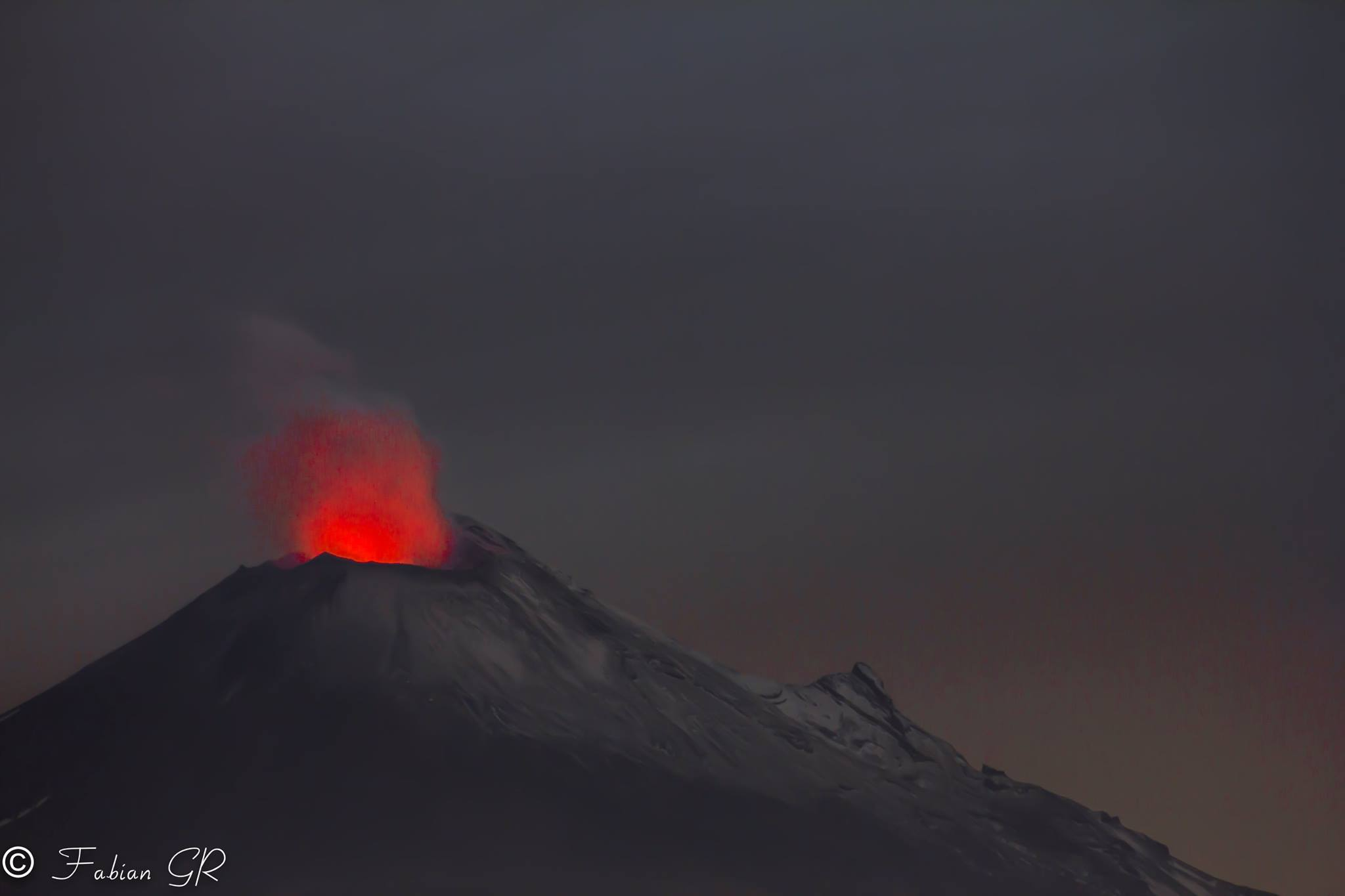 October 10 , 2016. EN. Turrialba , Popocatepetl , Fuego , Tungurahua .