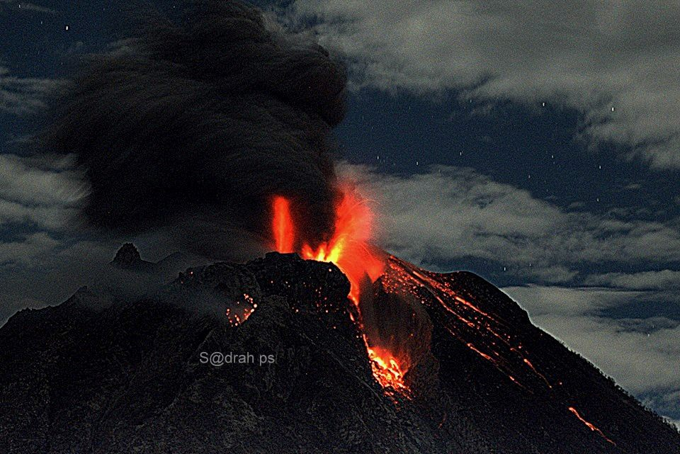 January 25 , 2016. EN.  Popocatepetl , Sinabung , Fuego .