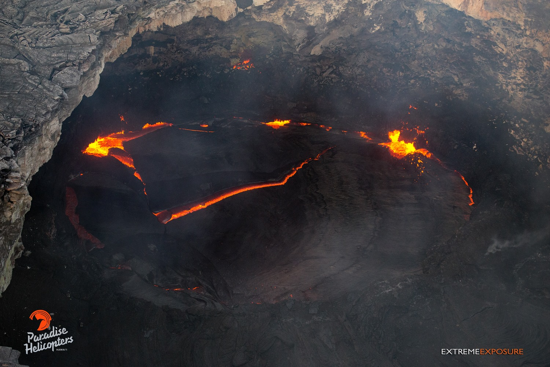 19/02/2016. Fr. Pacaya , Nevados De Chillan , Kilauea , Asosan .