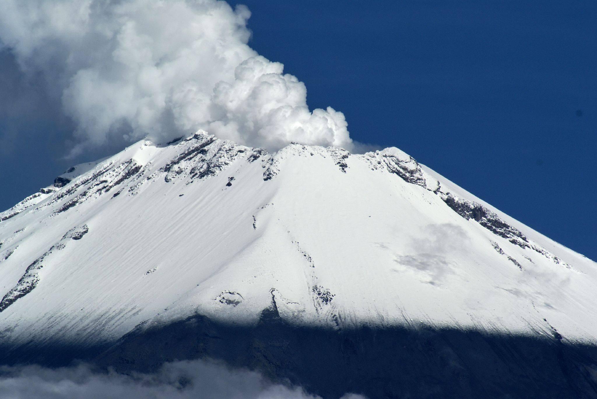 22/02/2016. FR. Sabancaya , Momotombo , Chimborazo , Popocatepetl .