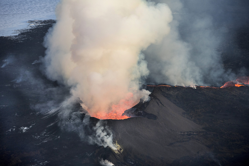 April 09 , 2016.  EN .  Bárðarbunga , Fuego , Ticsani , Popocatepetl .