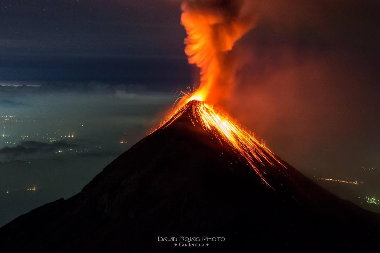 June 21, 2016. EN. Kilauea , Poas , Pacaya , Fuego , Kanlaon .