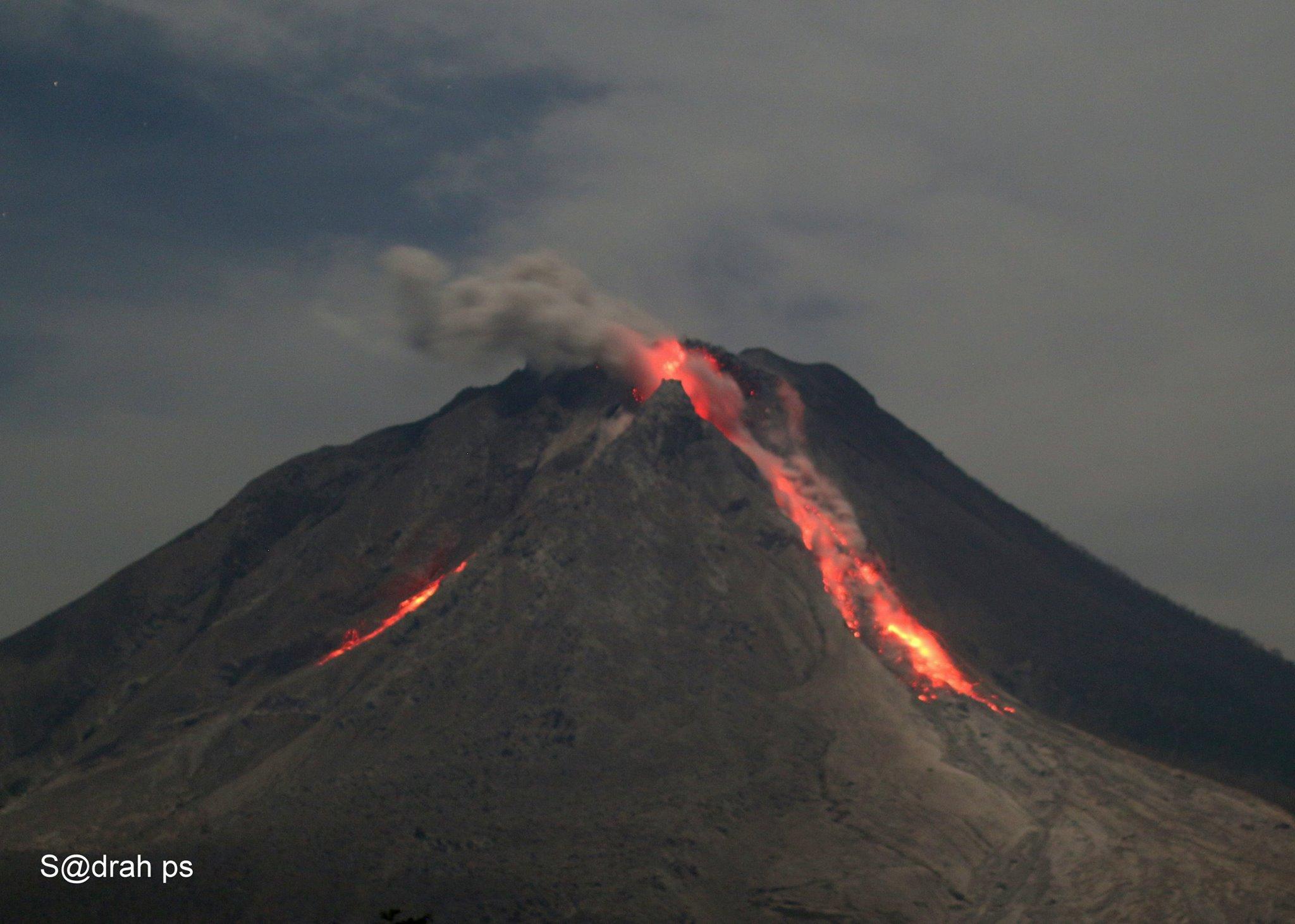 22/05/2016. FR . Sinabung , Popocatepetl , Sangay , Turrialba .